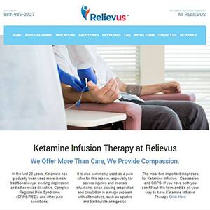 Relievus Ketamine Infusion Therapy