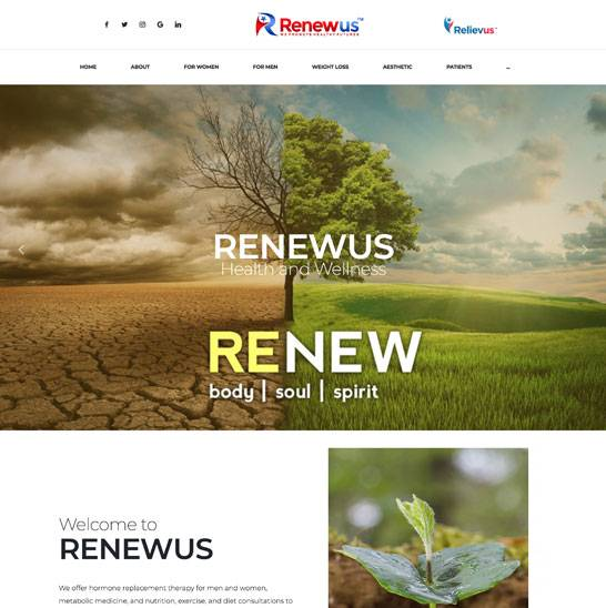 Renewus: Wellness Treatments