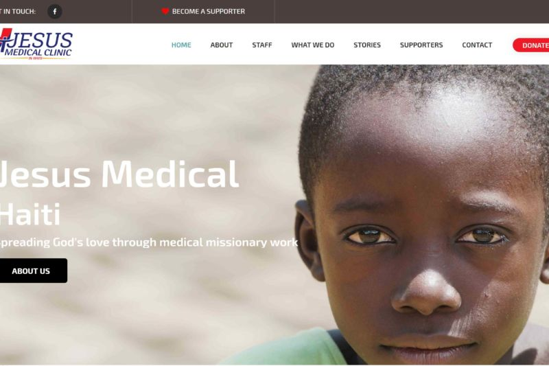 Jesus Medical, Web Design for Nonprofits